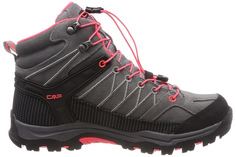 CMP Unisex-Erwachsene Rigel Mid WP (Grau-ROT Trekking-& Wanderstiefel Grau (Grau-ROT WP Fluo) 1d5d13