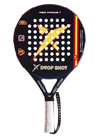 DROP SHOT Pala Padel Red Force: Amazon.es: Deportes y aire libre