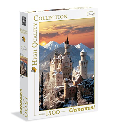 High Quality Pezzi31925 Puzzle1500 Neuschwanstein Clementoni Collection 6bYf7gy