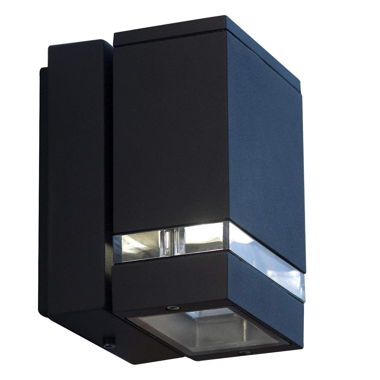 LED Lámpara de pared/exterior Antracita 1 - Lámpara de techo ...