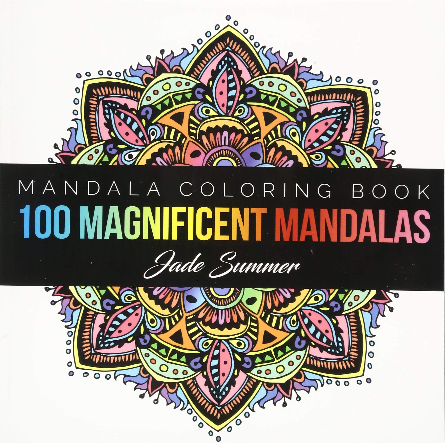 - Amazon.com: Mandala Coloring Book: 100+ Unique Mandala Designs And
