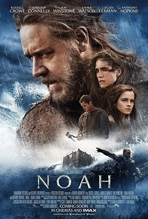 Amazon.com: NOAH Movie Poster 2 Sided Original INTL Final 27x40 Russell  Crowe: Posters & Prints