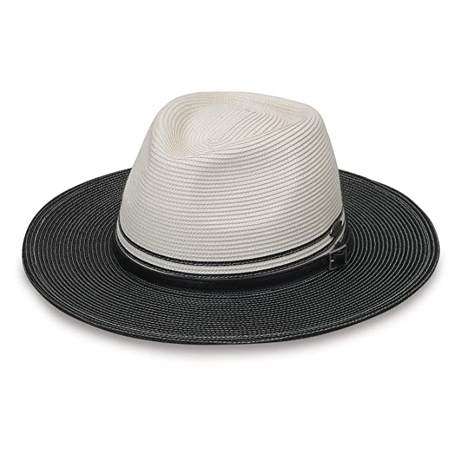 88aa02d0 Wallaroo Hat Company Kristy - Packable, UPF50+, Ivory/Black at Amazon  Women's Clothing store: