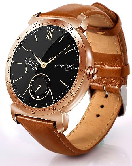 Reloj Inteligente Smart Watch Hombres Mujeres Niños Bluetooth 4.0 Smartwatch IP67 Impermeable Deportes Pulsómetro, Monitor