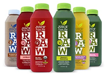 Juice From The Raw 3 Days Organic Juice Cleanse