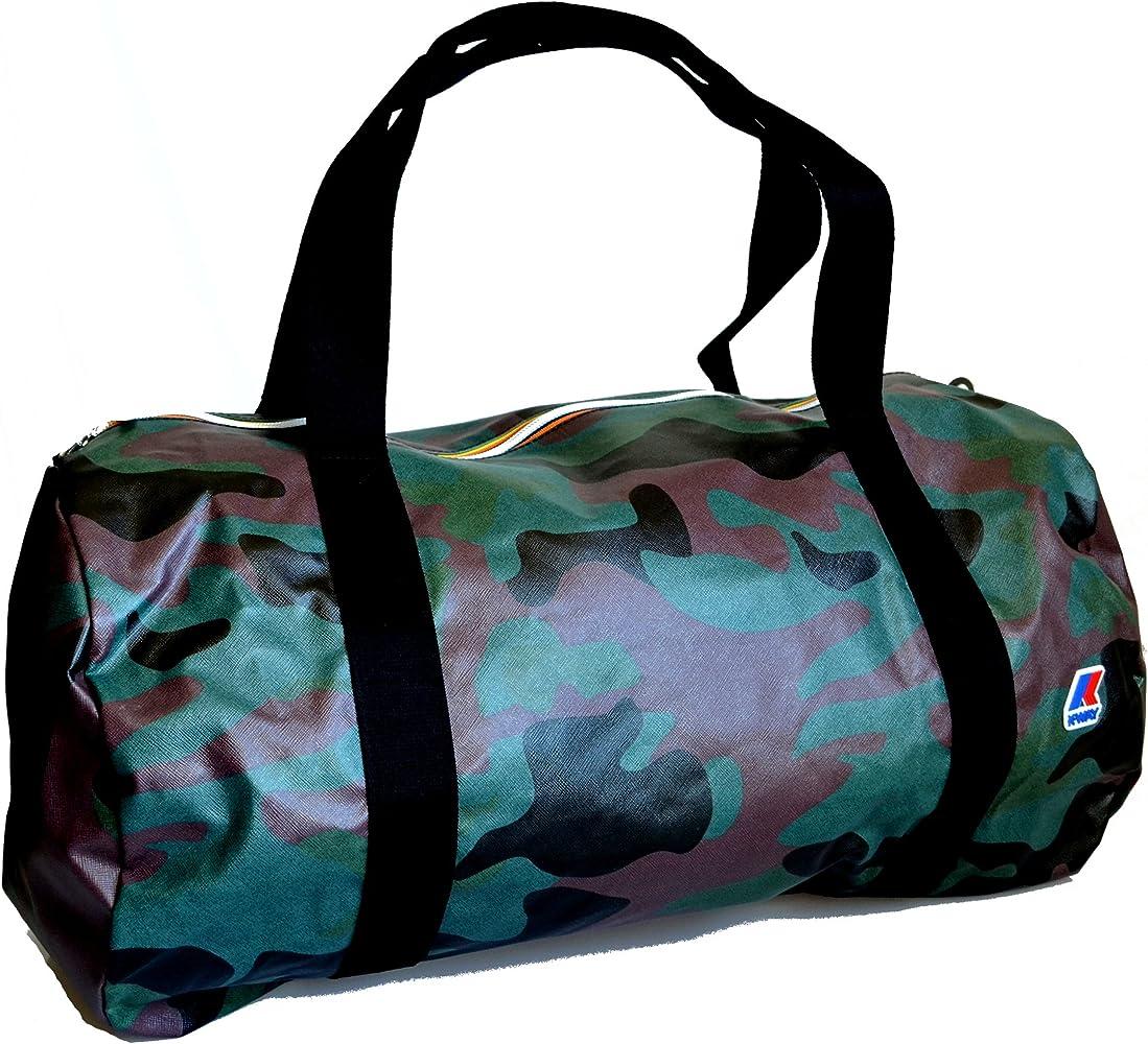 K Way Borsa Borsone Viaggio Palestra Uomo Donna Bag Men