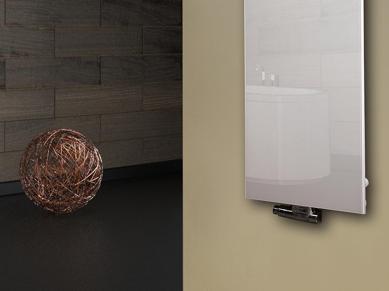 Marke: Szagato 50mm Made in Germany//Bad und Wohnraum-Heizk/örper Mittelanschluss wei/ß 1 Handtuchhalter Badheizk/örper Design Montevideo 2 799 Watt Glas-Front HxB: 120 x 47 cm
