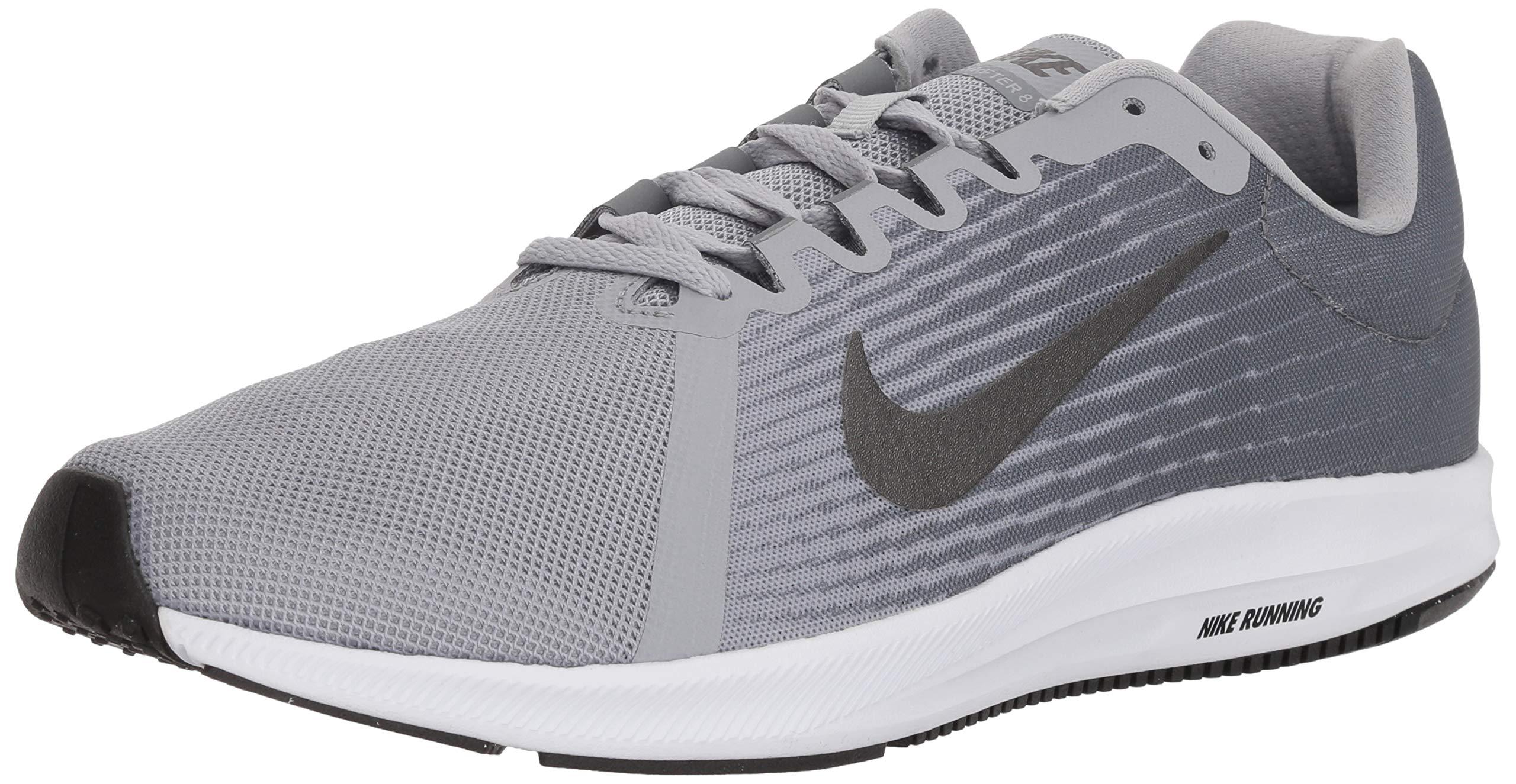 size 40 37615 d5e58 Galleon - Nike Men s Downshifter 8 Running Shoe, Wolf Metallic Dark Cool  Grey, 9 Regular US