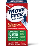 Glucosamine & Chondroitin Plus MSM Advanced Joint Health Supplement Tablets, Move Free (120 count in a bottle), Supports…