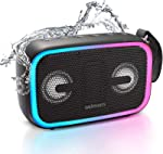 IPX7 Waterproof Bluetooth Speaker,Asimom 28W Portable Outdoor Speakers with Enhanced Bass,Bluetooth