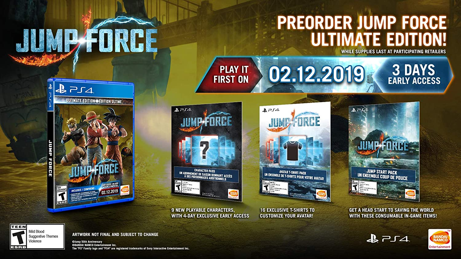 Amazon.com: Jump Force - PlayStation 4 Ultimate Edition ...