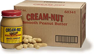 product image for Case of Cream Nut Natural Smooth Peanut Butter - (6 Jars)