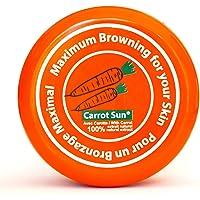 Carrot Sun® garvningsaccelerator Carrot Cream | Solkräm med 100% naturlig morotoljextrakt | Maximal snabb garvning | 350…