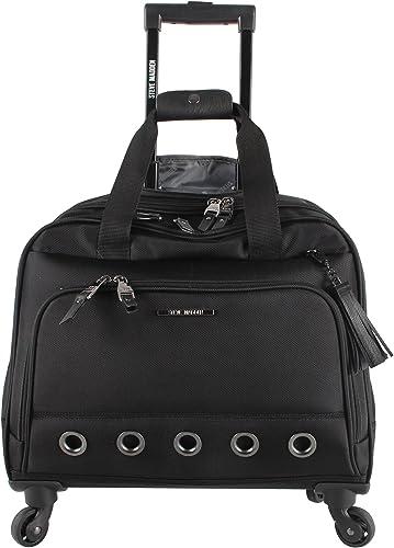 Steve Madden Luggage Wheeled City Bag B-Social Black