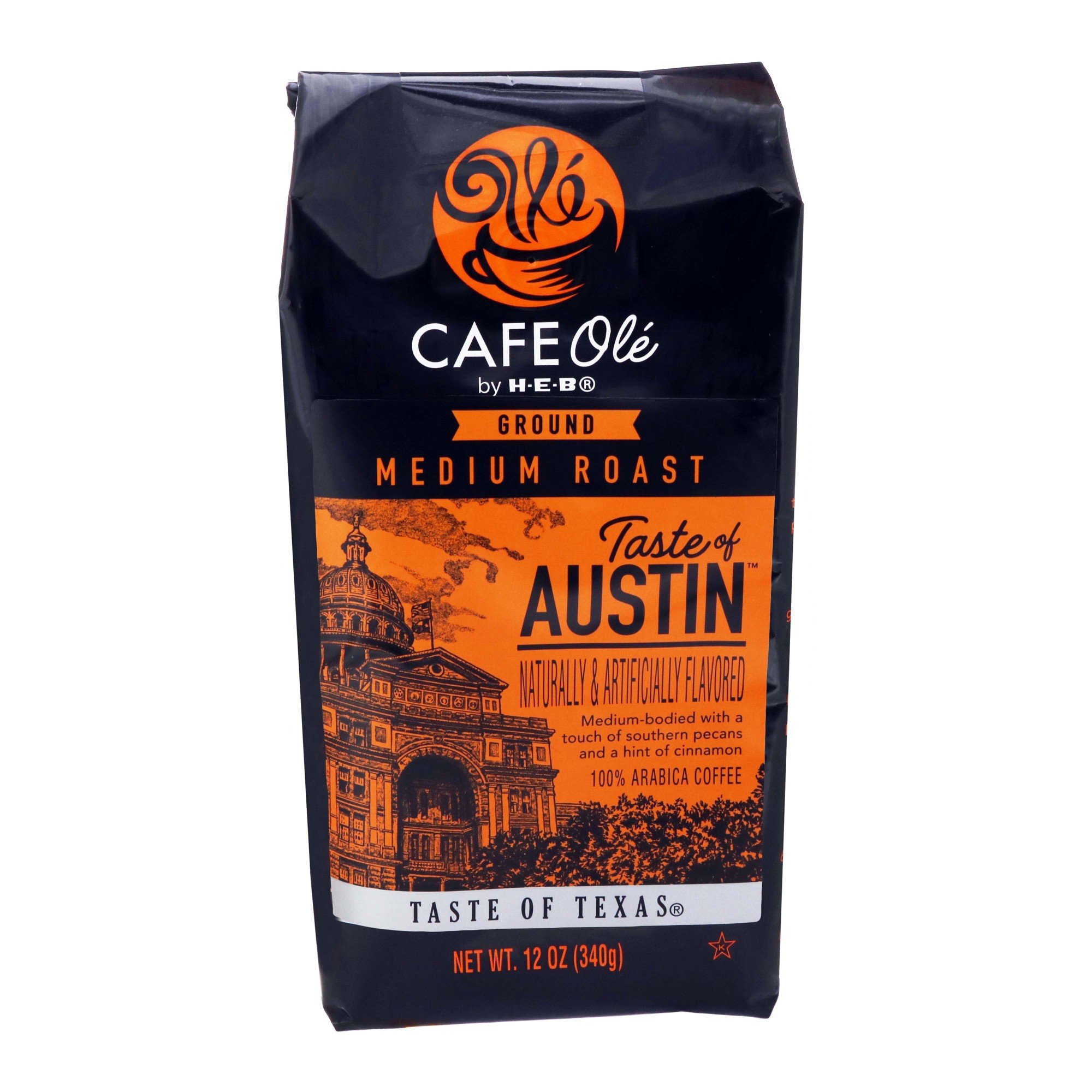 Amazon Com Heb Cafe Ole Ground Coffee 12oz Bag Pack Of