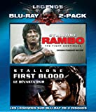 Legends of the Expendables: Rambo I: First Blood / Rambo IV (2008) (Sylvester Stallone Double Feature) (Bilingual) [Blu-ray]
