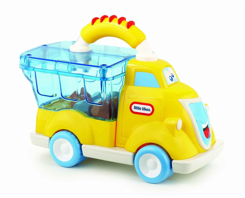 amazon com little tikes handle haulers pop haulers dump truck