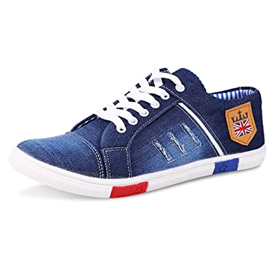 Bonexy Men s Canvas Jeans Shoes  Buy Online at Low Prices in India -  Amazon.in 6edf4c1ea