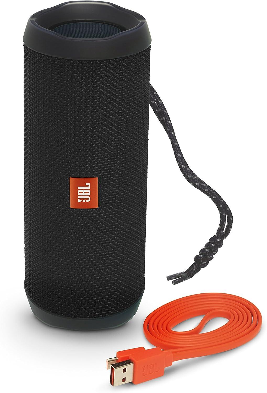 JBL FLIP4 Bluetoothスピーカー IPX7防水 / ポータブル ブラック JBLFLIP4BLK