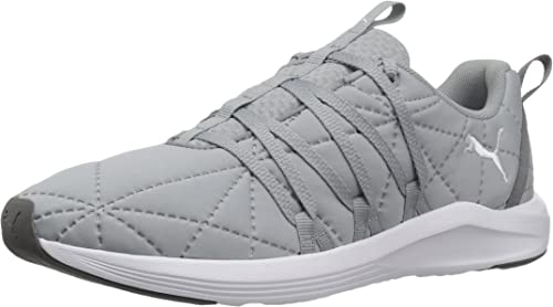 Details about Puma Womens Running Sneakers Mesh Lace Up Athletic Shoes Low Top Gray Size 10 M