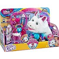 Little Live Pets 28863 Little Live Rainglow Unicorn Vet Set Electronic Plush