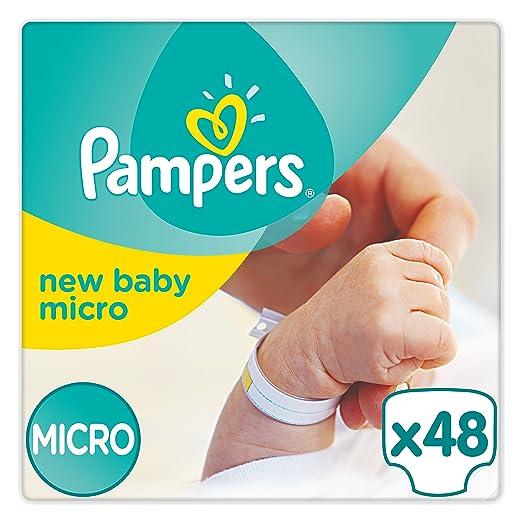 18 opinioni per Pampers New Baby, 48 Pannolini, Taglia 0 (1-2,5 kg), 2 Confezioni da 24