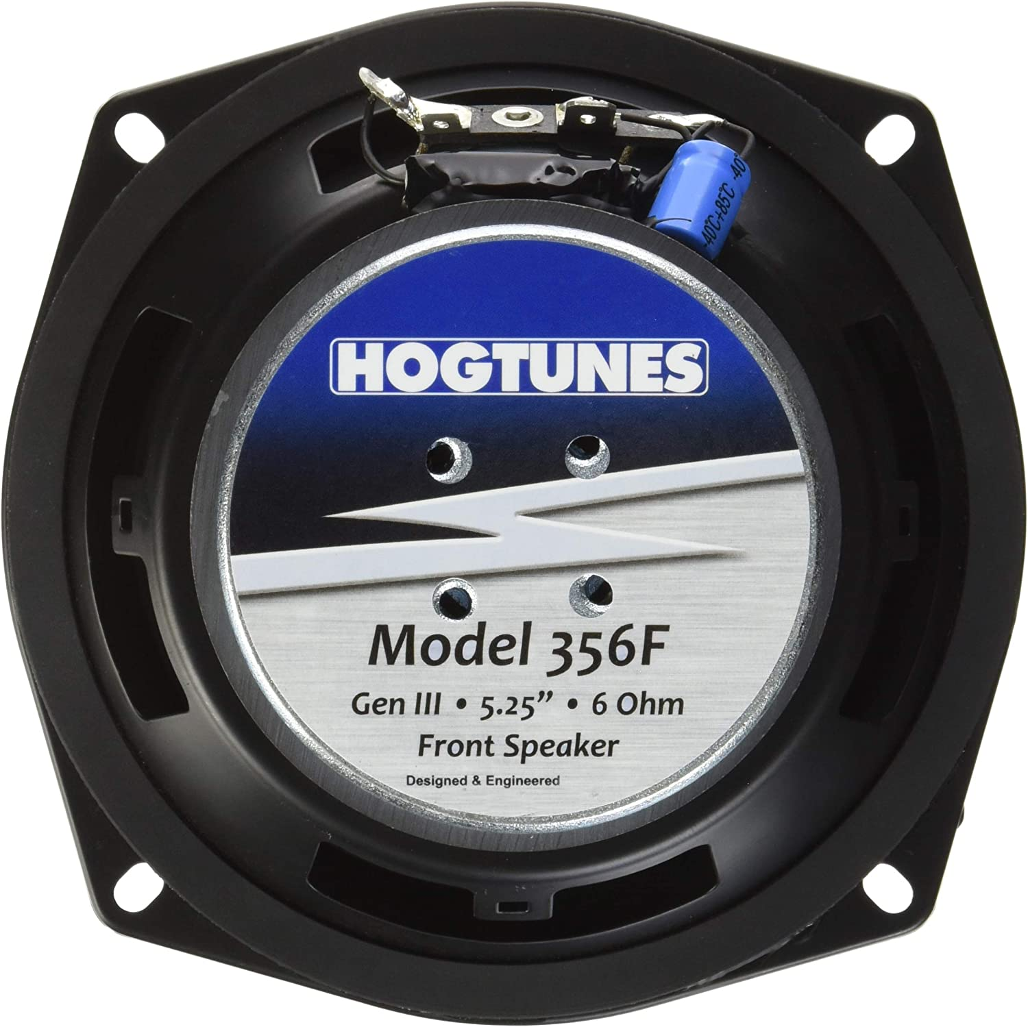 Gen3 5.25 for 1996-2005 Harley-Davidson FLH Touring Models Hogtunes 356F Replacement Front Speaker