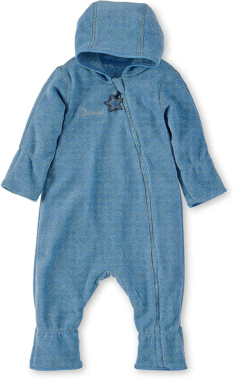 Sterntaler Baby-Jungen Overall Strampler Blau