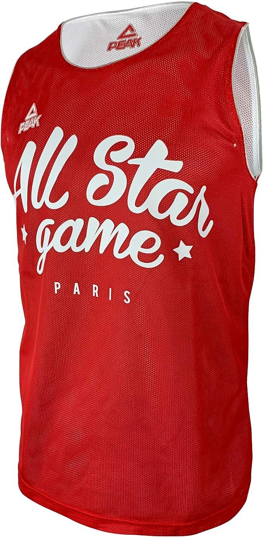 Liga Nacional de Baloncesto - Camiseta Reversible de Baloncesto, Color Rojo, Nest Pas Applicable, Unisex Adulto, Color Rojo, tamaño Medium: Amazon.es: Deportes y aire libre