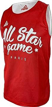 Liga Nacional de Baloncesto - Camiseta Reversible de Baloncesto ...