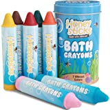 Honeysticks Bath Crayons for Toddlers & Kids - Handmade from Natural Beeswax for Non Toxic Bathtub Fun - Fragrance Free…