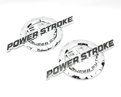 6 0 Powerstroke Badge
