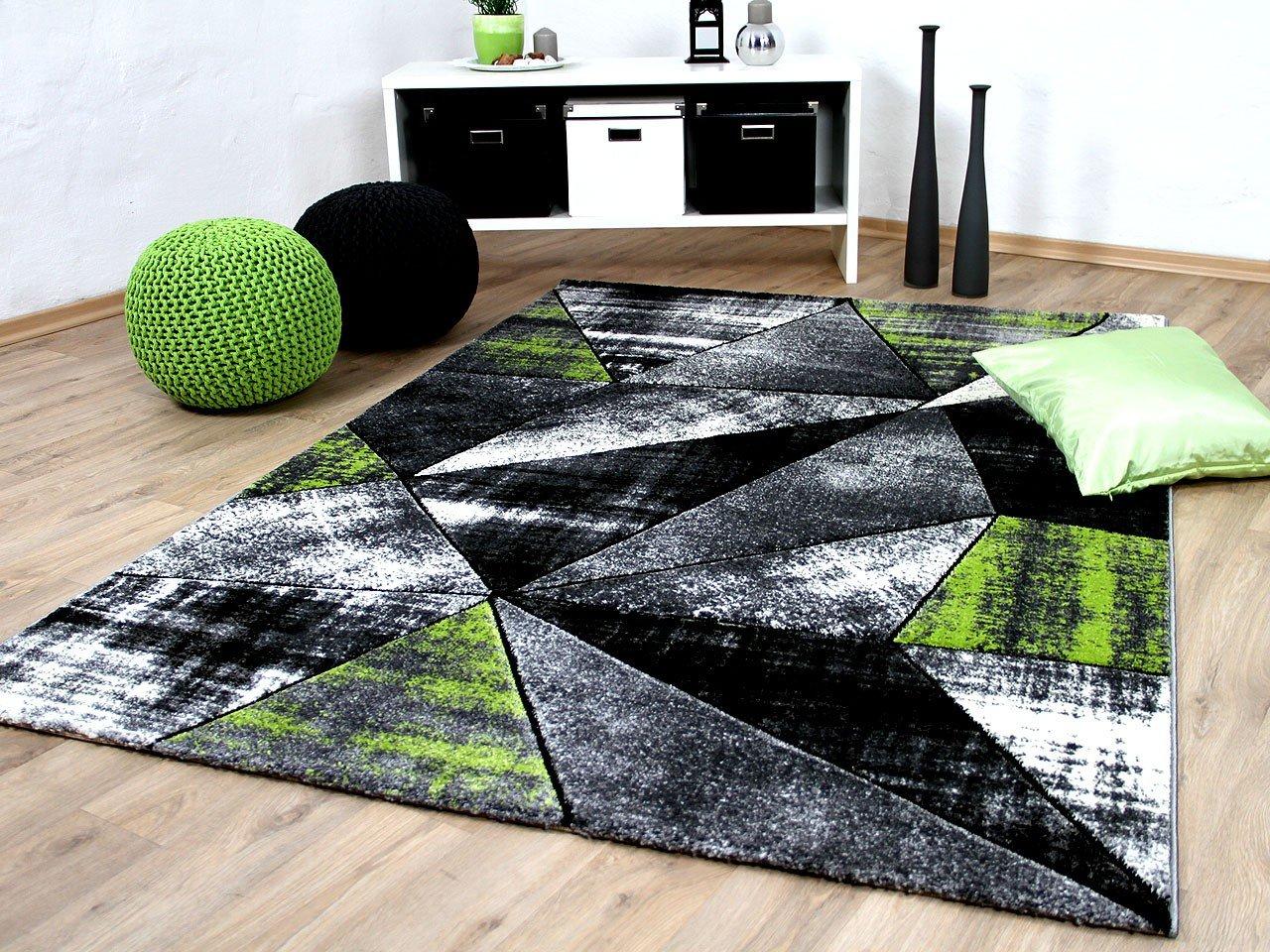 Designer Teppich Brilliant 5 Grau Grun Magic In 5 Brilliant Grossen