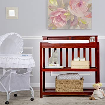Wonderful Dream On Me Zoey 3 In 1 Convertible Changing Table, Cherry