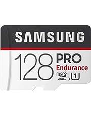 Samsung PRO Endurance 128GB 100MB/s (U1) MicroSDXC Memory Card with Adapter (MB-MJ128GA/AM)