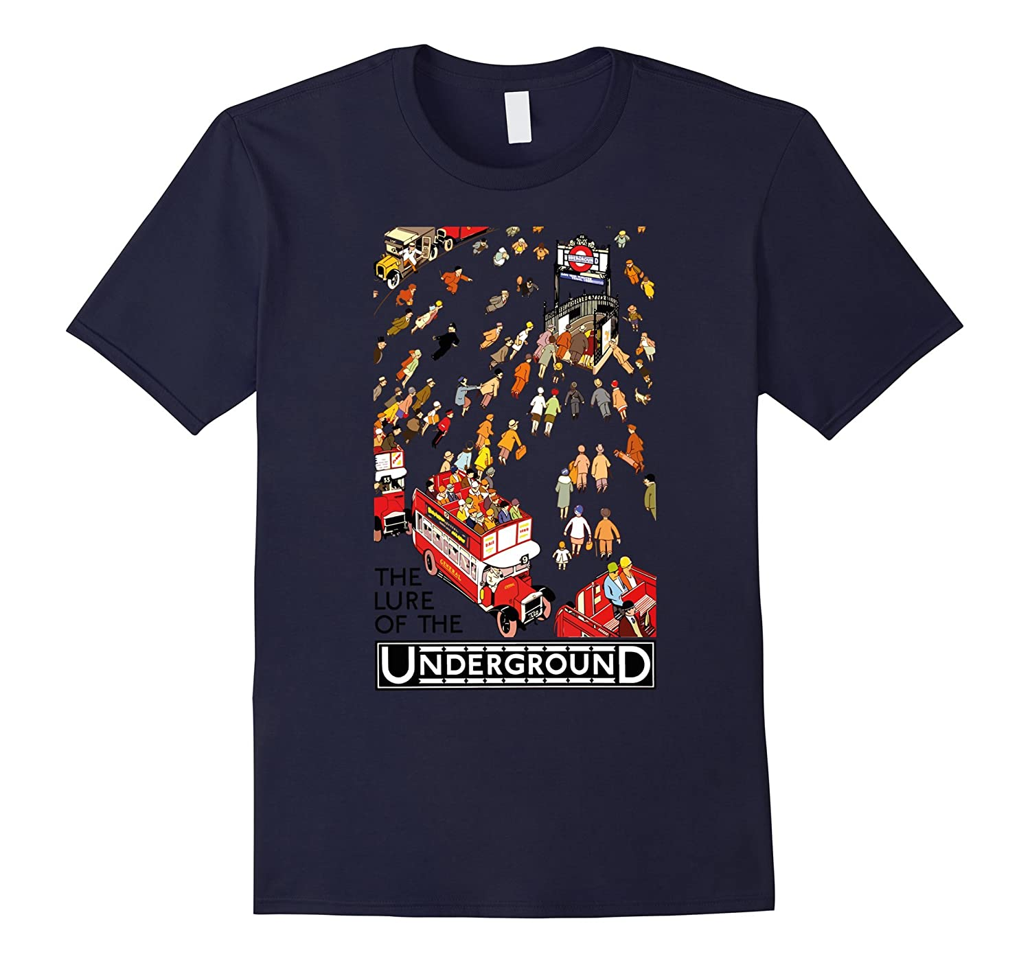 Lure of The Underground London T-Shirt-CD