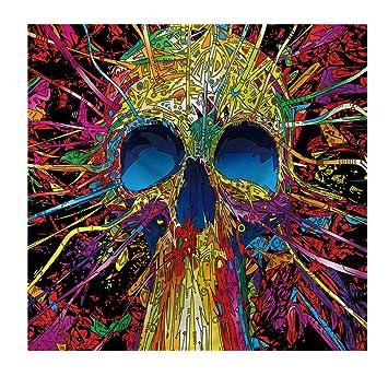 RFVBNM Tapiz Colgante de Pared,tapices Hippie Hippie,tapicería de Inicio de Cabeza de