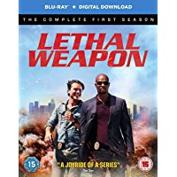 Lethal Weapon: The Complete Season 1 (Blu-ray + Digital Download + UV) (3-Disc Box Set) (Slipcase Packaging + Region Free + Fully Packaged Import)