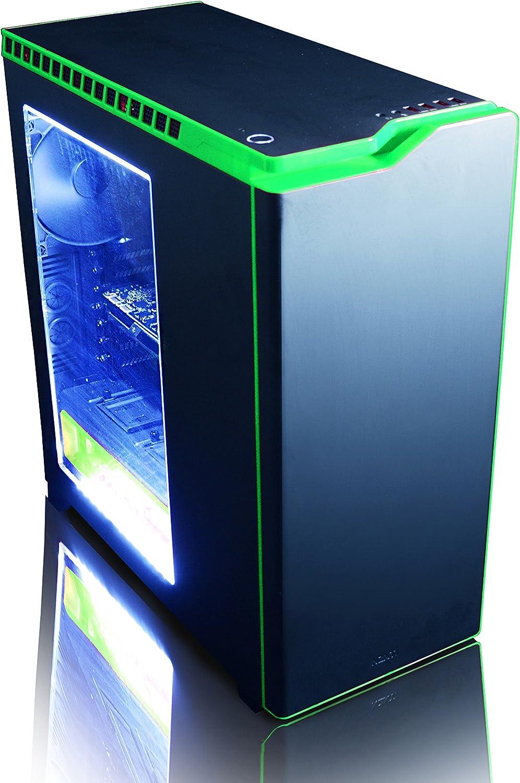 Win 10 4,0GHz Intel i7 X 6-Core, Nvidia GeForce GTX 1070 Tarjeta Grafica, 16GB DDR4 RAM, 240GB SSD, 2TB HDD VIBOX Titan 33 Gaming PC Ordenador de sobremesa con Cup/ón de juego 27 HD Monitor