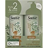 SUAVE HAIR Professionals Almond + Shea Butter Moisturizing Shampoo And Conditioner, 1 Set