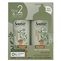 Suave Professionals Moisturizing Shampoo and Conditioner Almond and Shea Butter...