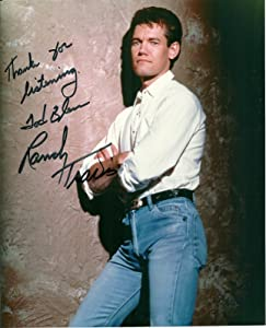 Randy Travis country legend reprint signed photo #1 RP