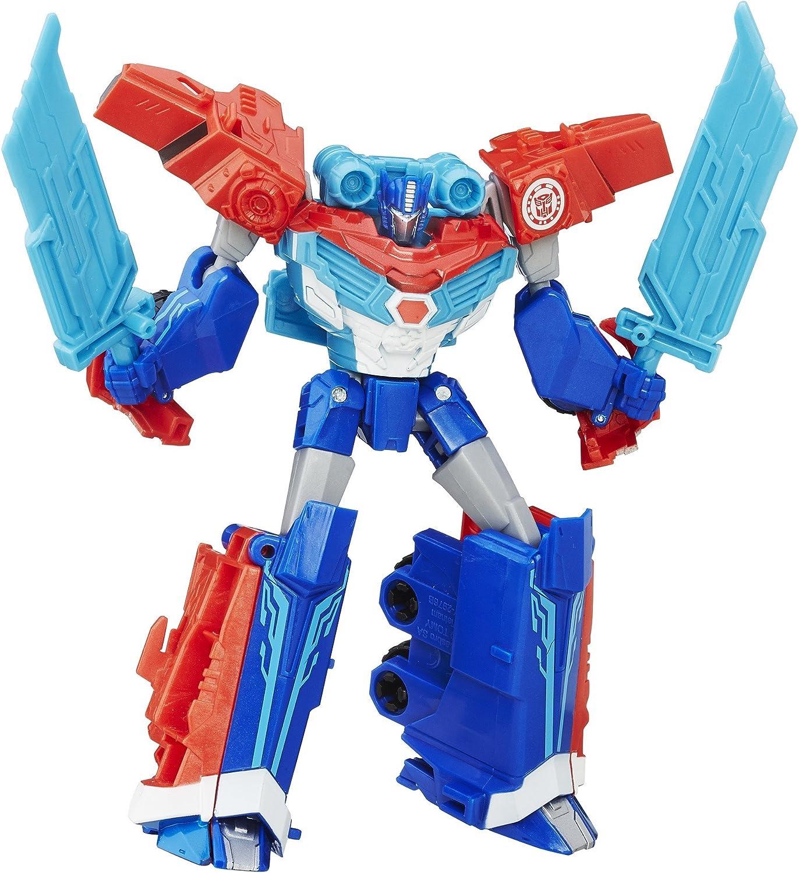 Transformers: Robots en Disfraz Guerrero Clase contra sobrecargas ...