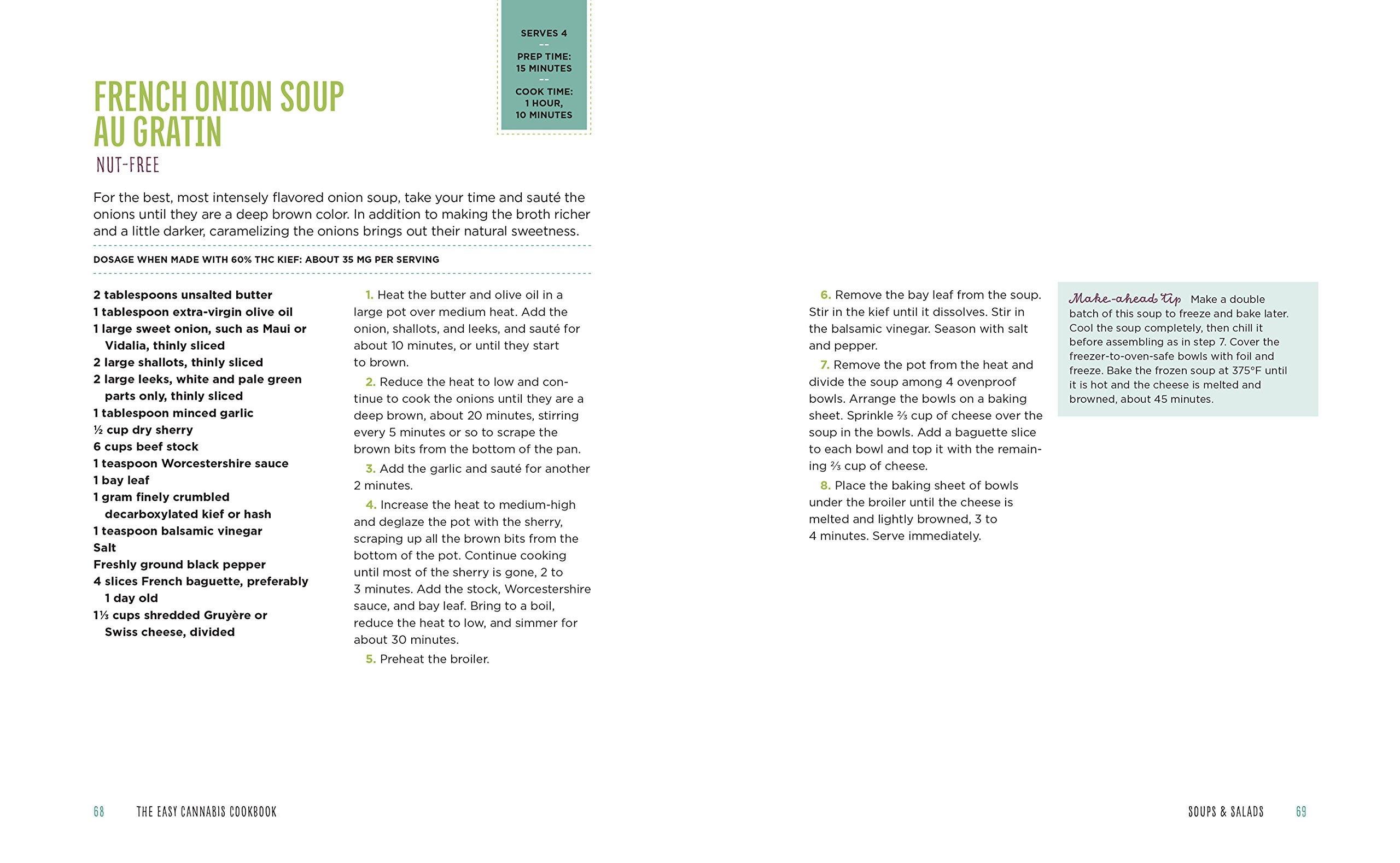 The Easy Cannabis Cookbook: 60+ Medical Marijuana Recipes