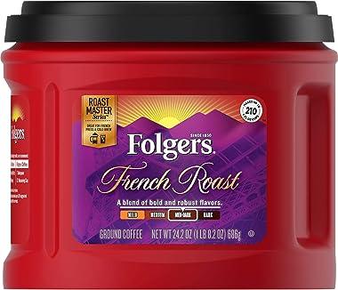 Folgers French Roast Medium Dark Ground Coffee
