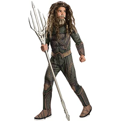 Rubie's Costume Justice League Aquaman Trident Accessory Costume, One Size: Toys & Games