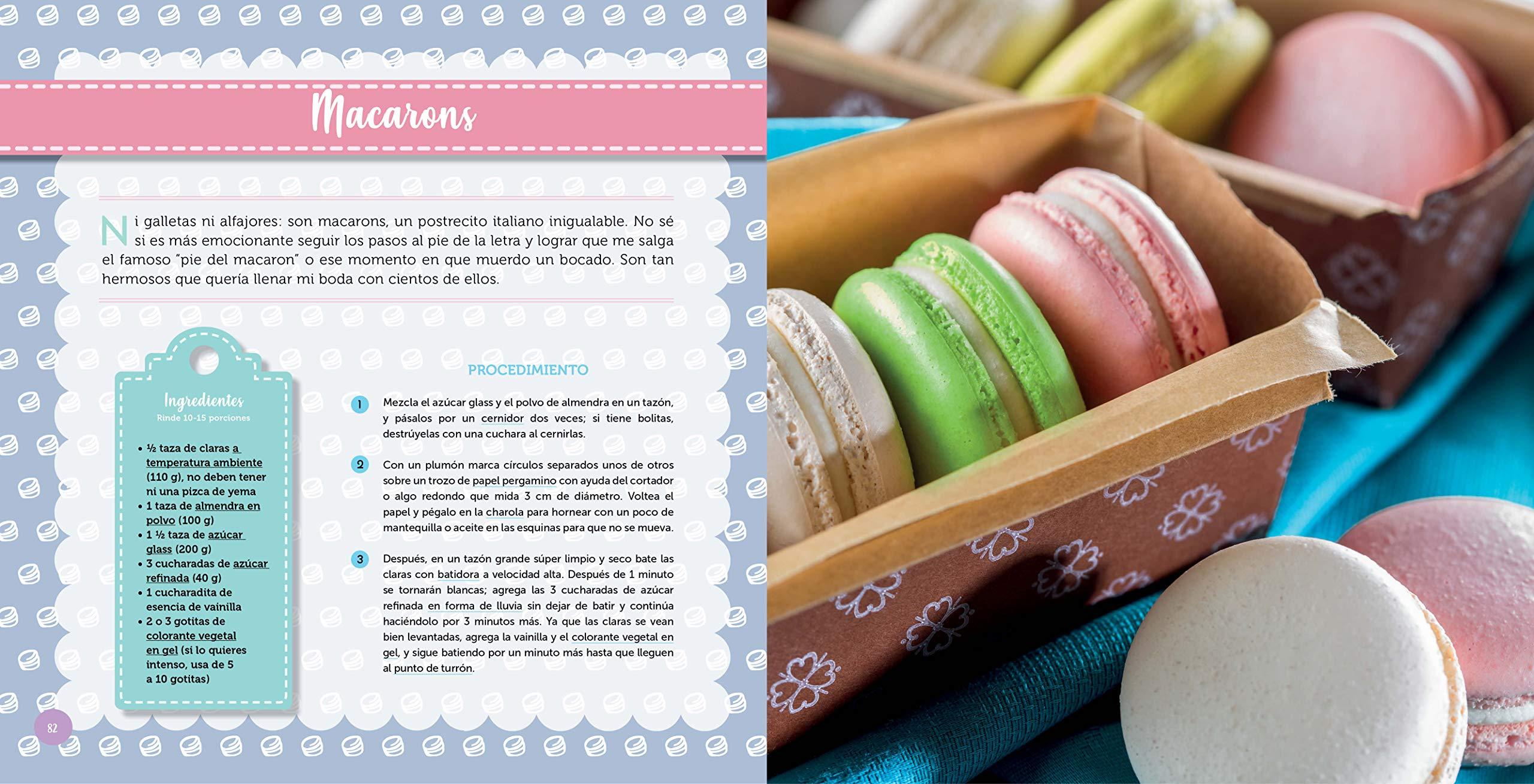 Mis Pastelitos Recetario Dulce Y Eshpeshial Spanish 9786073171564 Verduzco Gris Books