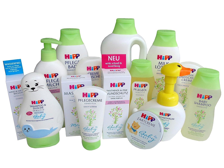 HiPP Pflege-Set BIG Baby Pflege Newborn Sanft - 15 Pflegeprodukte