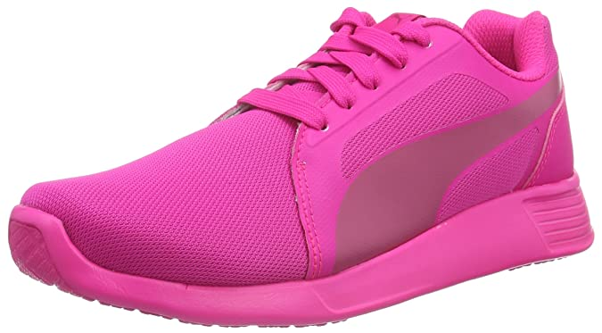 Puma Unisex-Kinder ST Trainer Evo Low-Top, Pink (Pink Glo-Fuchsia Purple 08), 38.5 EU