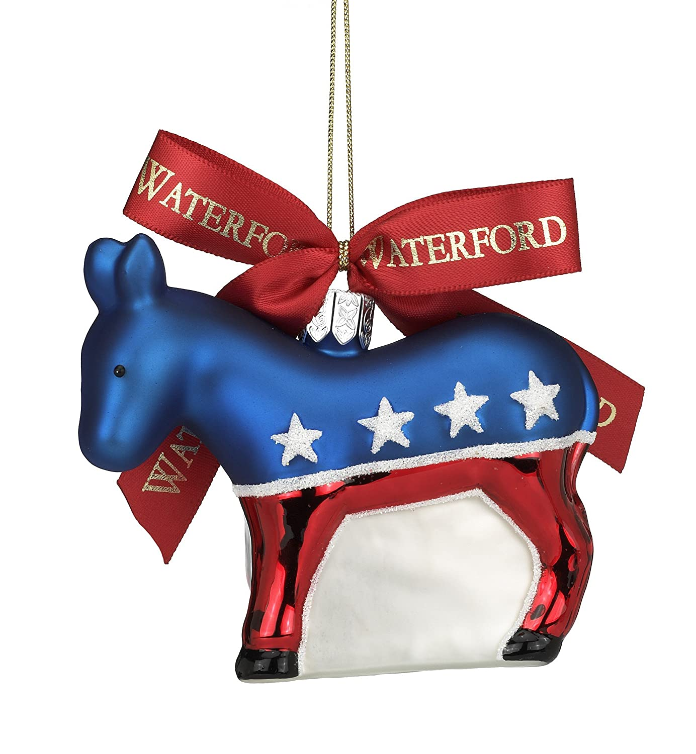 Donkey ornaments - Amazon Com Waterford Holiday Heirlooms Democratic Donkey Christmas Ornament Home Kitchen